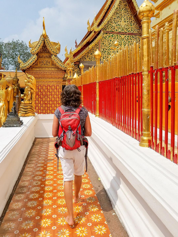 Inner Terrace of Wat Phrathat Doi Suthep