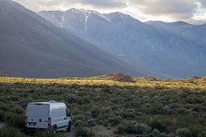 Tommy's new camper van