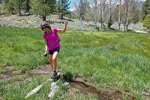 Lolo on the Buckeye Creek Trail