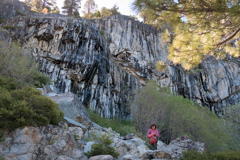 Lolo by Mayhem Cove climbing crag