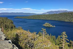 Fannette Island in Lake Tahoe