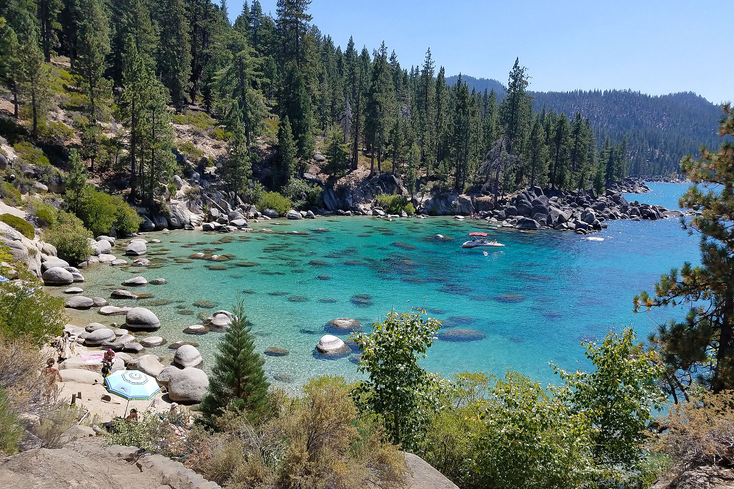 Secret Cove on Lake Tahoe