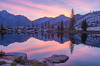Sunrise on Boulder Creek Lake