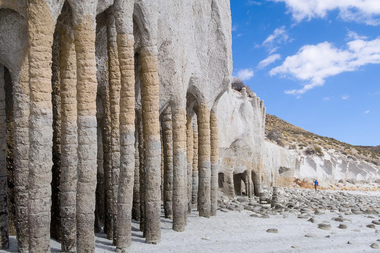 Crowley Lake Stone Columns