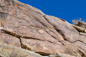 Pictographs in Picture Canyon