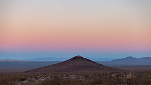 Sunset over Jedediah Smith Butte