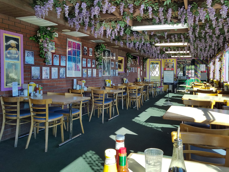Interior of Peggy Sue's Diner