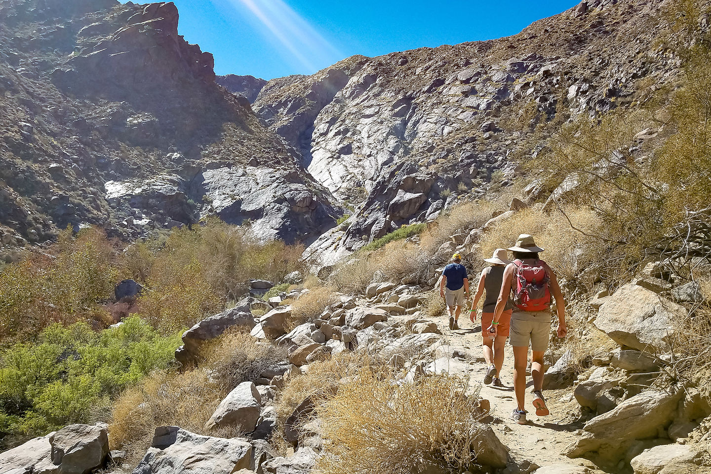 Hike to Tahquitz Canyon