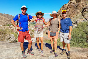 Nothing like old friends (Tahquitz Canyon)