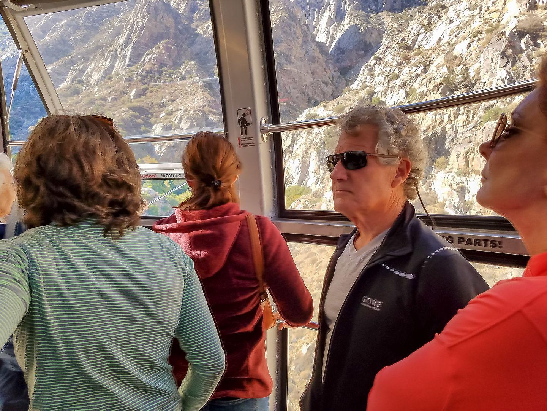 Palm Springs Tramway to San Jacinto summit