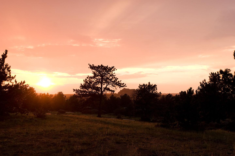 Vedauwoo Glens sunset