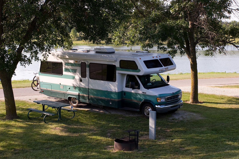 Lazy Daze at Lake Anita campground