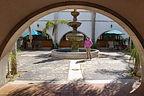 Courtyard of Hotel Mision Santa Maria