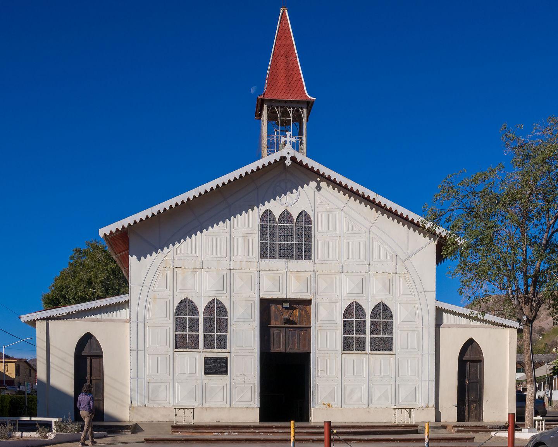 Iglesia de Santa Barbara de Santa Rosalia (Eiffel Church)