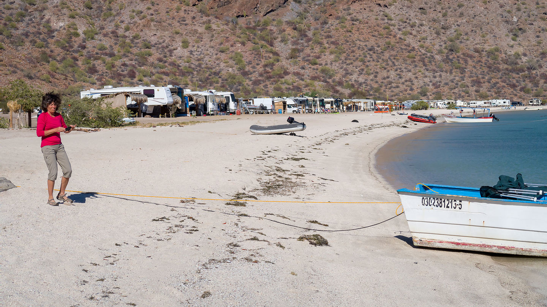 Windy Playa Santispac