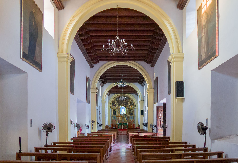 Interior of Mision Nuestra Senora de Loreto Concho