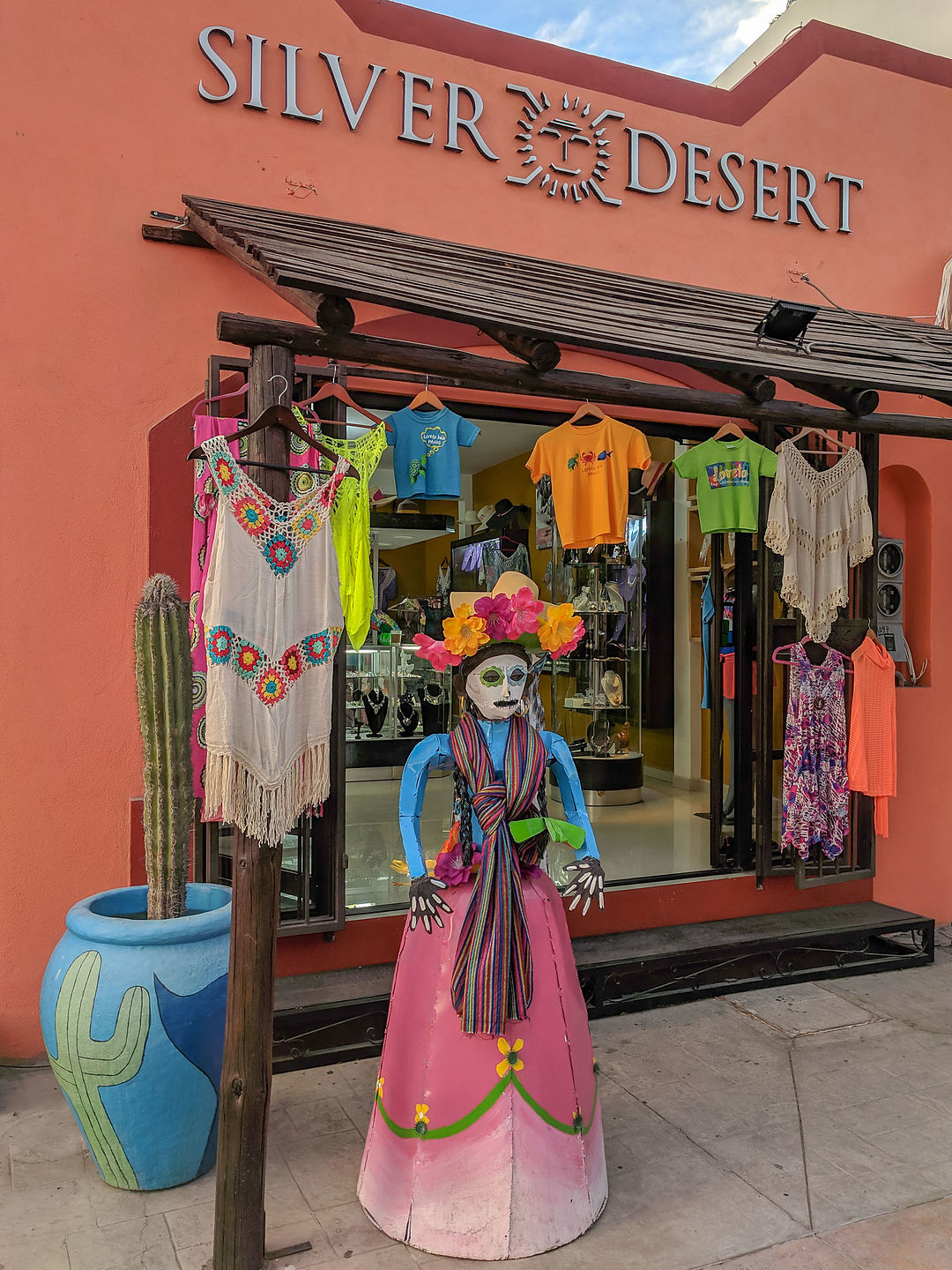 Clothing shop in the Plaza Juarez