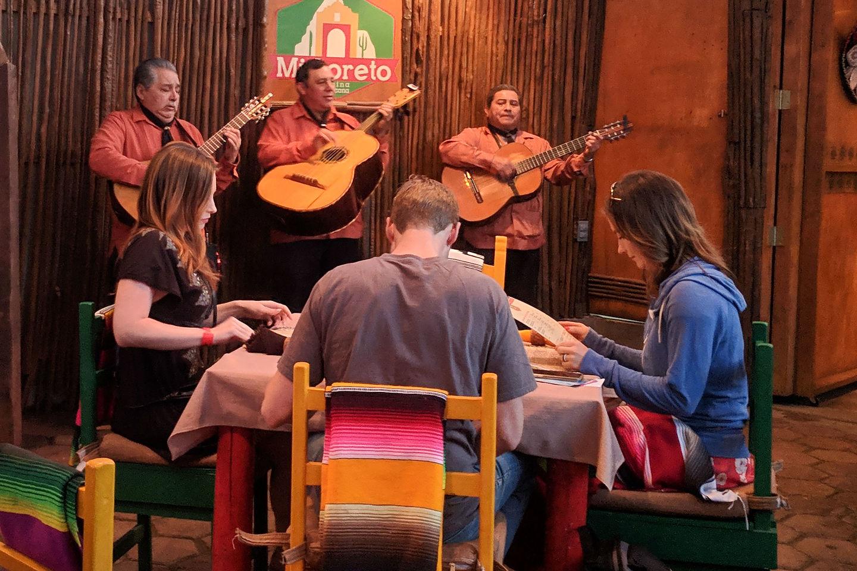 Entertainment at Mi Loreto Restaurant