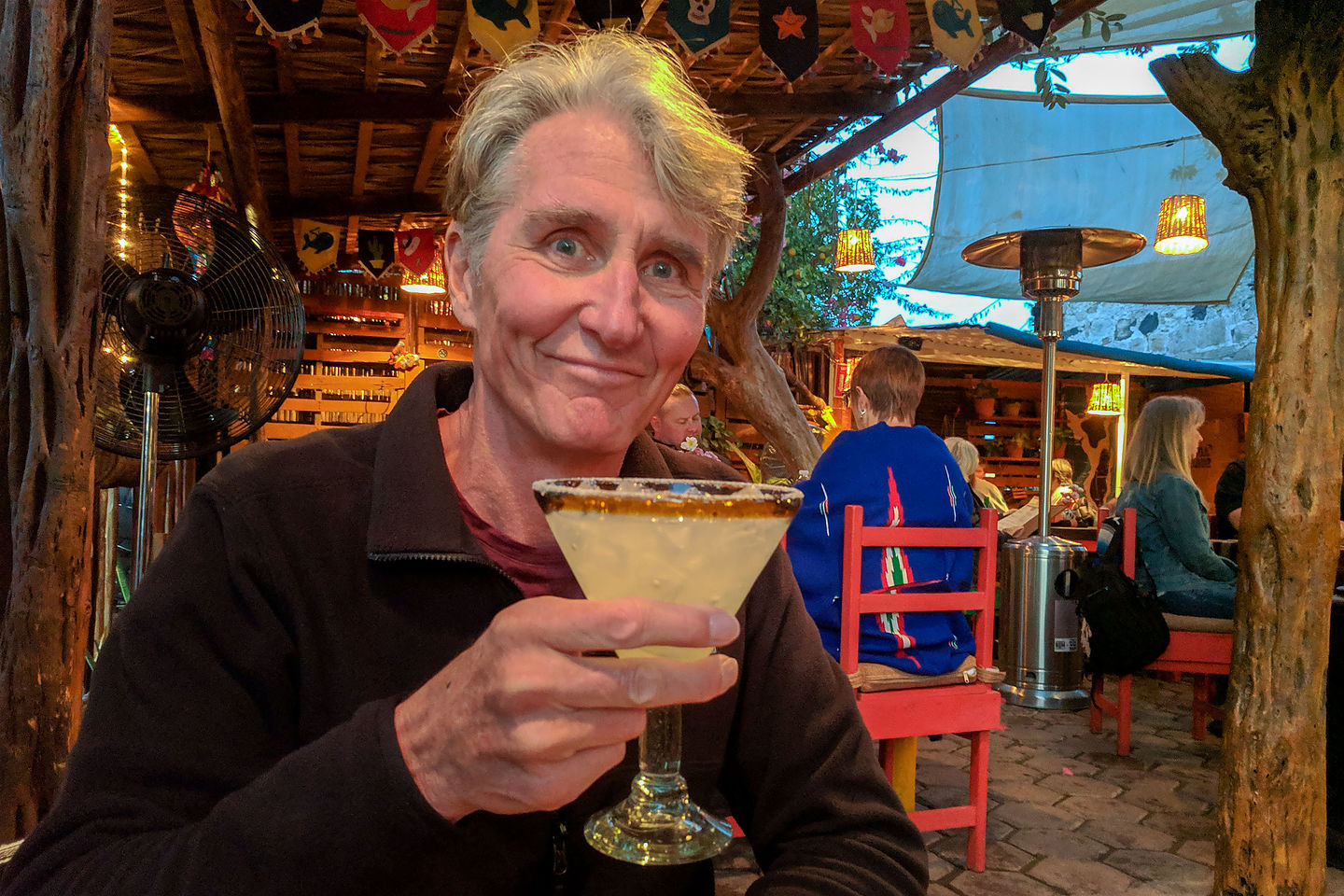 Herb and his margarita