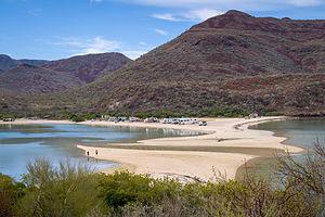 Playa El Requeson on Bahia Concepcion
