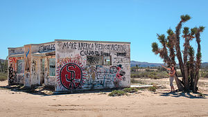 My favorite roadside graffiti