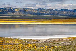Carrizo Plains - Soda Lake salt flats