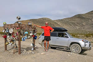 Teakettle Junction on way to the Racetrack