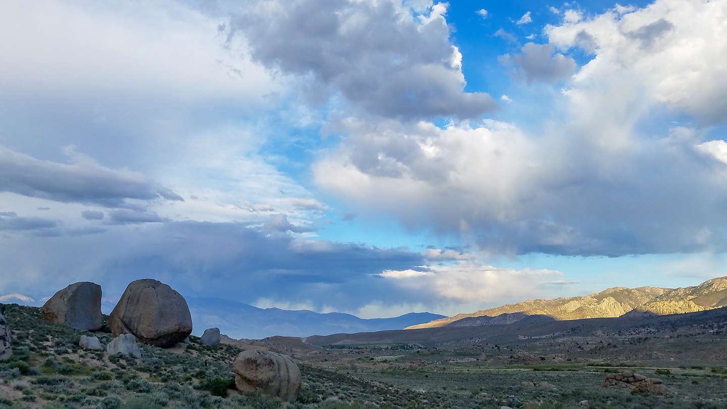 Late afternoon in the Buttermilks
