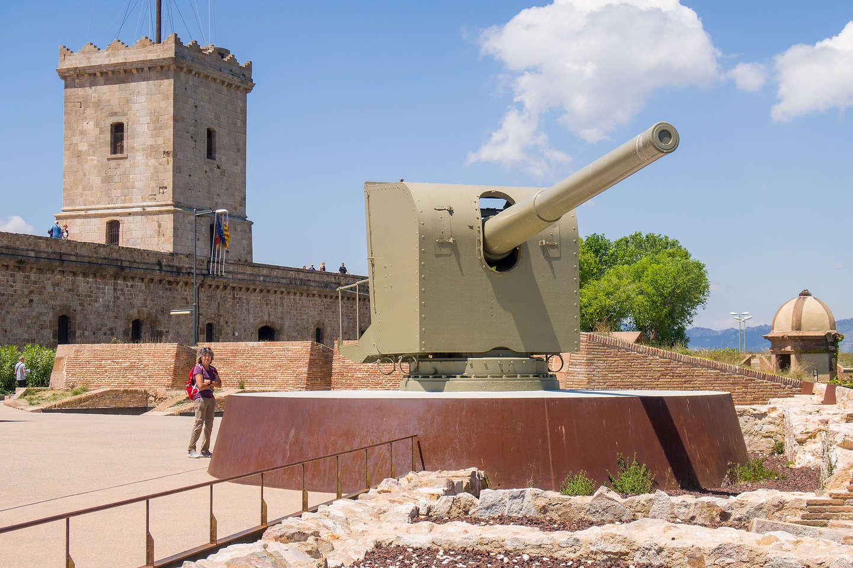 Atop Montjuic Castle