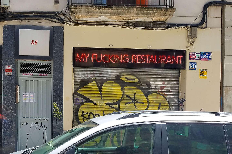 I wonder whose restaurant it is?