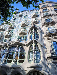 Gaudi's Casa Batllo on the Block of Discord