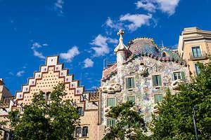 Rooftop of Gaudi's Casa Batllo