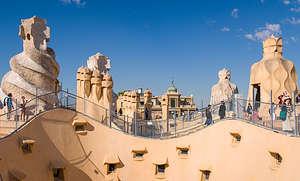 Rooftop of Gaudi's Casa Mila
