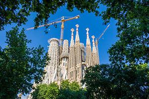 One last view of the Sagrada Familia