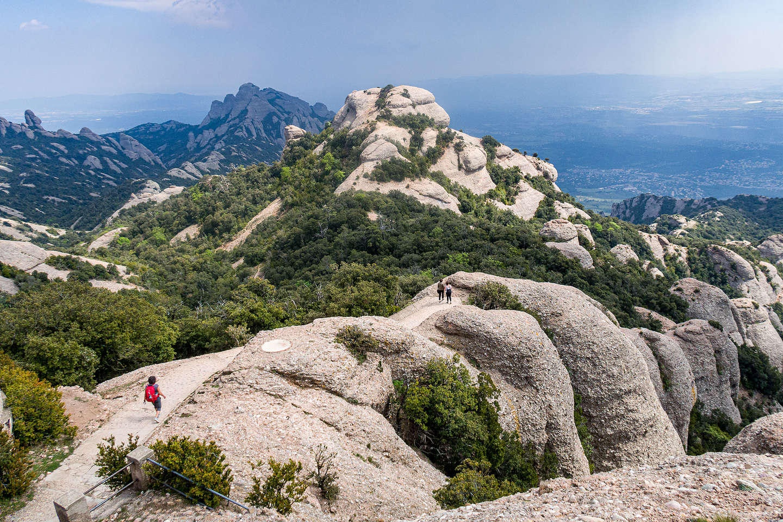 The hike to Sant Jeroni