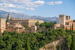 View of Alhambra from Albaicin