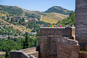 Alcazaba Fort in the Alhambra