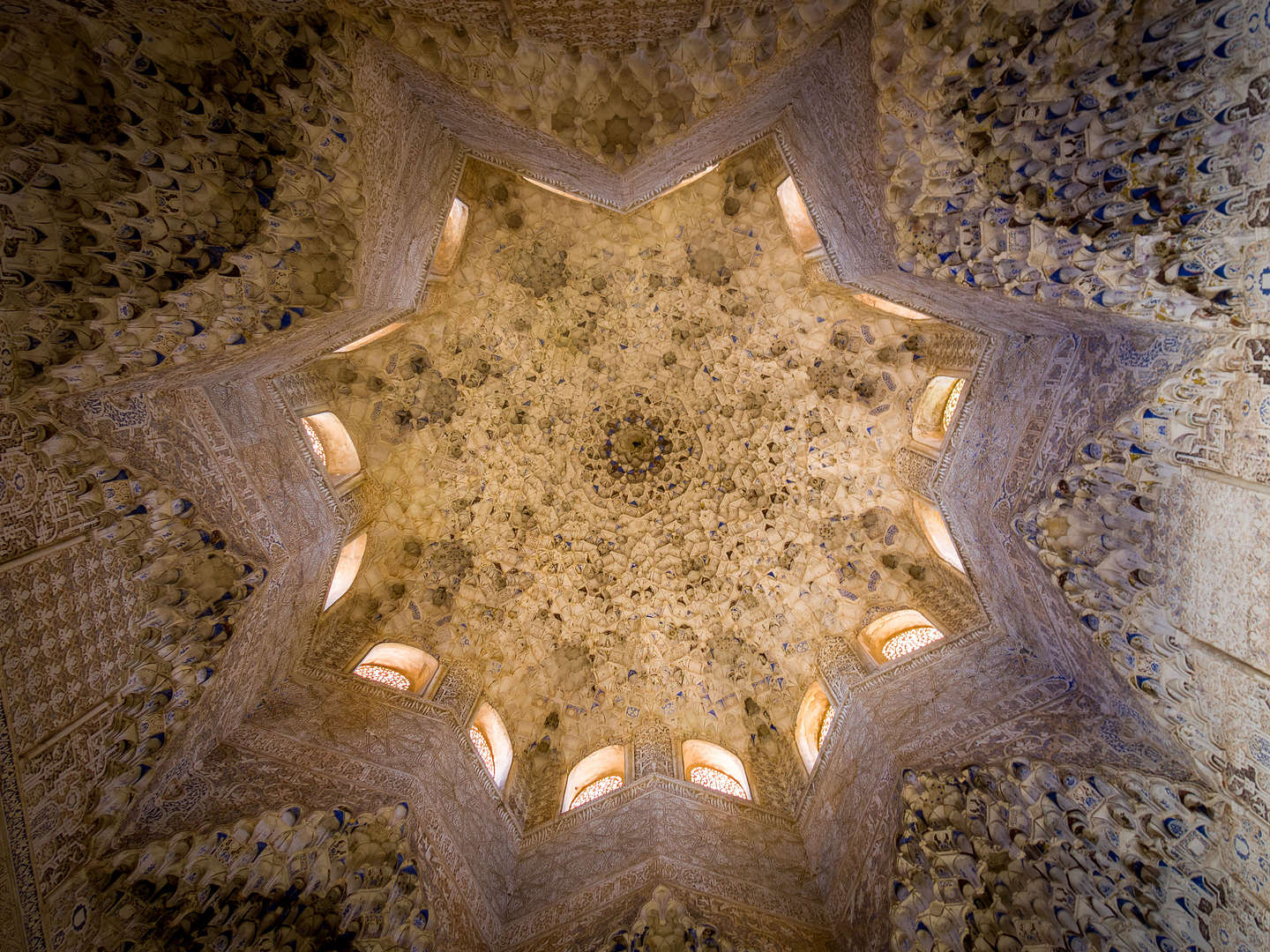 The Seven Heavens of the Islamic Paradise in the Hall of the Ambassadors