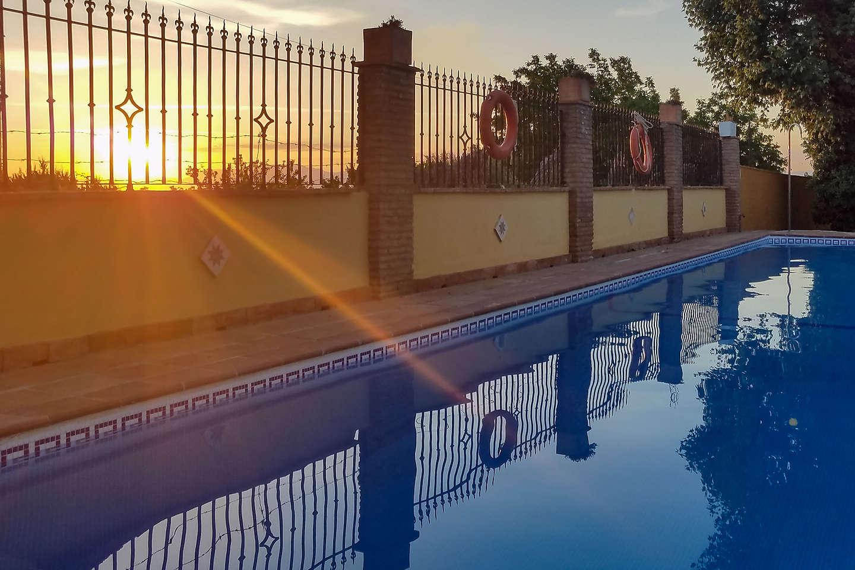 Pool at Camping Reina Isabel