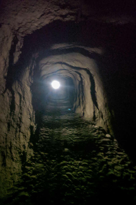 Tunnel to the Caminito del Rey trailhead