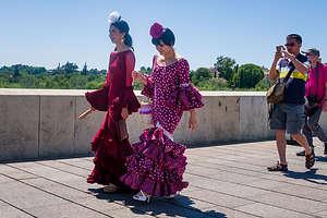Flamenco dancers in Cordoba
