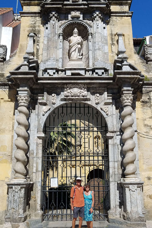 Church near the Roman Temple in Cordoba