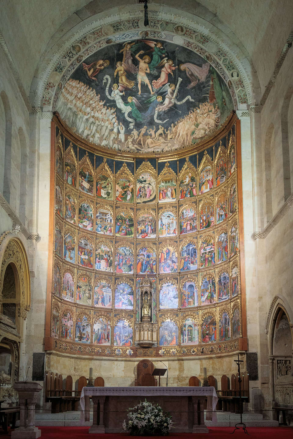 Altar of the 12th century Old Cathedral