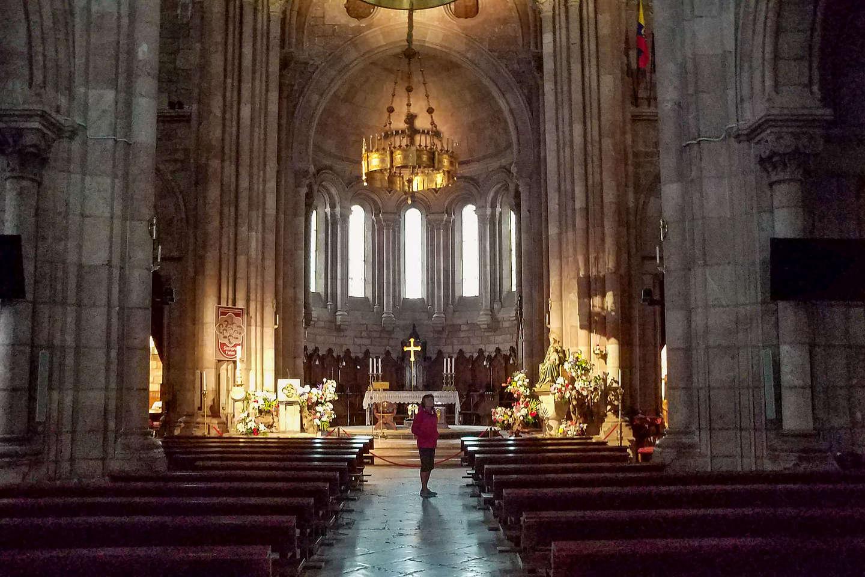 Interior of the Basilica de Covadonga
