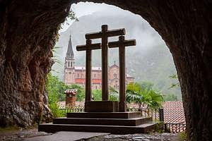 View of the Basilica from Santa Cueva