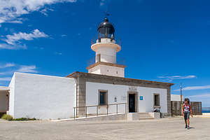 The Cap de Creus lighthouse - easternmost point in Spain