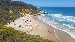 Cala Fonda beach on the Costa Daurada