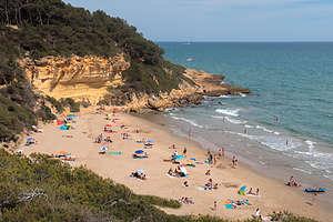 Back to lovely Cala Fonda beach