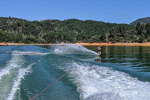 Tommy slalom skiing