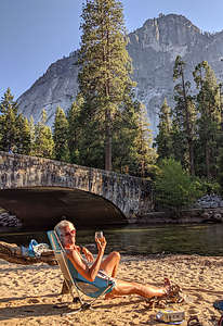 Welcome Toast to another Yosemite Valley adventure